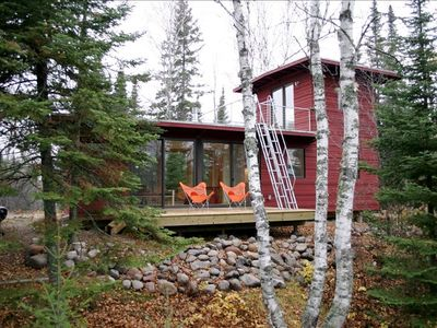 Northwoods weehouse cabin unique modern retreat 2 br for Vacation rentals minneapolis mn