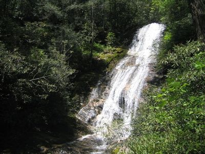 100 Ft. Satualah Falls right outside the cottage