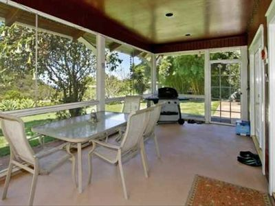 Screened Lanai (unfurnished)
