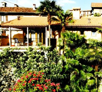 Charming apartment in Lake Maggiore with terrace, garden and panoramic views