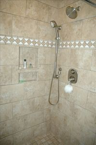 new master bathroom shower