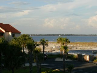 Navarre Beach condo photo - View of the Beautiful Sound From the Kitchen Window.