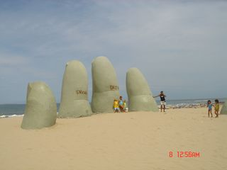 Punta del Este apartment photo - Playa Brava/Brava beach -steps from your home
