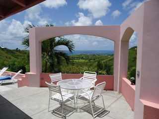 St. Croix villa photo - Outdoor Dining Guest Pavilion