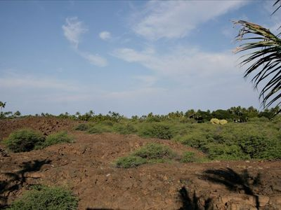 One View from the Lanai Overlooking Historic Nature Reserve & Your Lava Tubes
