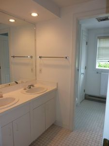 Double sinks in Master Bath Suite