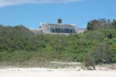 Nestled right into the sand dunes!