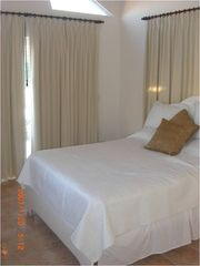 Guest bedroom (with water views and step out balcony) - June 2012 - Cabarete villa vacation rental photo
