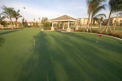 Putting Green at Windsor Hills