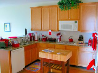 Ocean View villa photo - The gourmet kitchen has gas range, double ovens, and full cooking/serving pieces