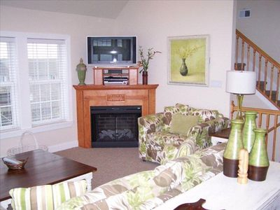 Rodanthe house rental - Third Level Living Room