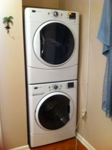 Washer and Dryer in Master Bedroom