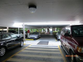 South Seas Club condo photo - Parking garage looking to garage condo enterance