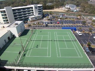 Sands Beach Club condo photo - On site Tennis & Volleyball Courts & Basketball (next to the fitness center)