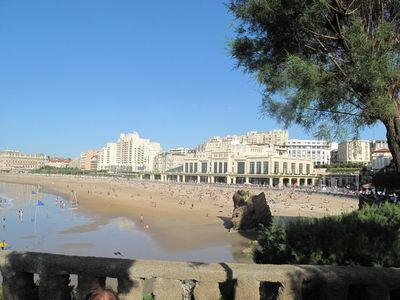 2-person holiday flat in Biarritz