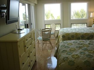 Seabrook Island condo photo - HDTV in one of two master bedroom