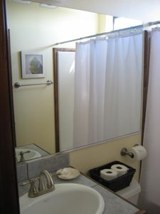 Bathroom attached to Casita bedroom