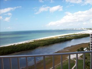 Fort Myers Beach condo photo - Relax on the balcony and enjoy spectacular views