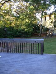 Fernandina Beach townhome photo - Huge patio