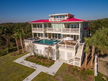 'Sea Star' ~ Exquisite Custom Built Home ~ Brand New ~ Oceanfront ~ Private Pool ~ Hot Tub