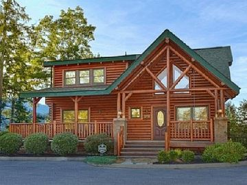 Sevierville cabin rental - Luxury Mountain Cabin