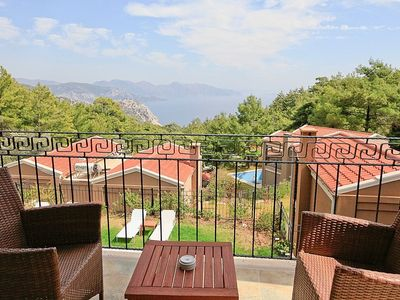 Turunc villa rental - Each bedroom has a private balcony