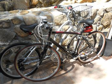 Two bikes included for your stay if requested