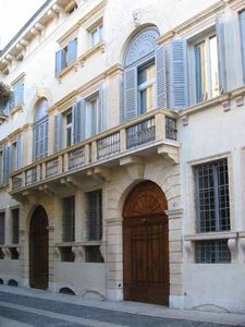 Verona City apartment rental - The front of Camozzini Palace