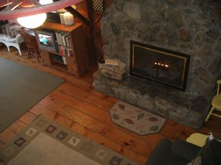 Woodstock house photo - Cozy Fireplace in your living room Satellite TV with HBO and Wireless Internet