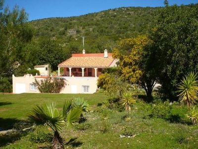 Villa (old farmhouse) with large private pool and large garden, very quiet location - Wifi