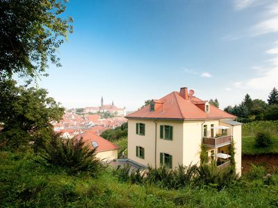 2 apartments in historic vineyard villa with view over the old town - Apartment 'Sorgenfrei'