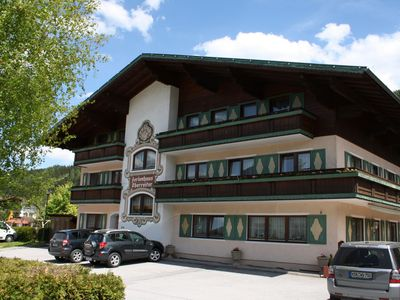 Properties with many facilities in the centre of Flachau