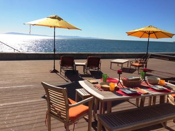 Ventura house rental - Beautiful new Beach House on the Sand with hot tub
