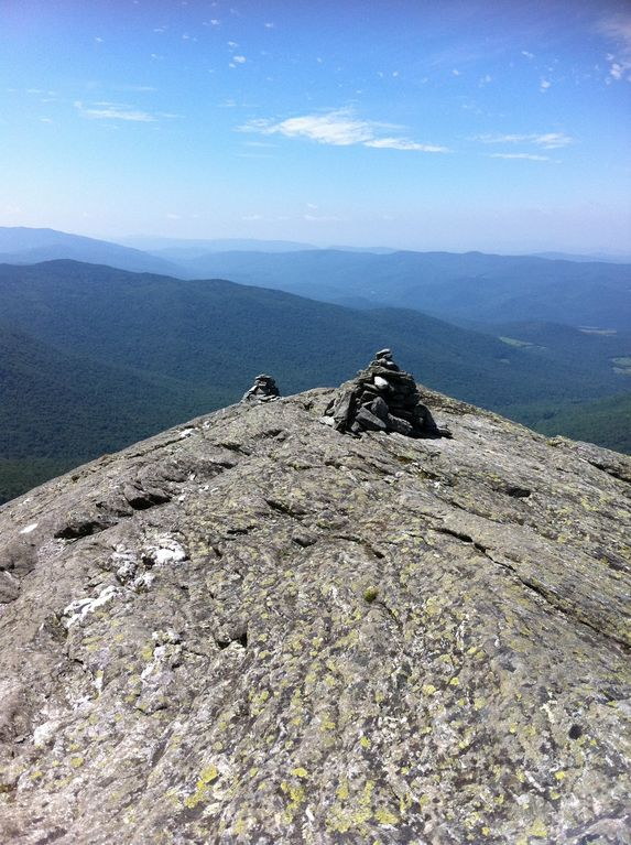 View from summit Camel's Hump