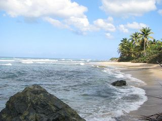 Vieques Island cottage photo - La Chata Beach is just a block away!