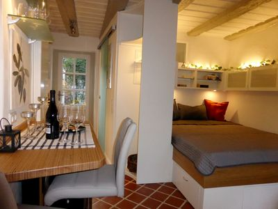 Romantic apartment in historic gatehouse in the old town - Altstadttraum