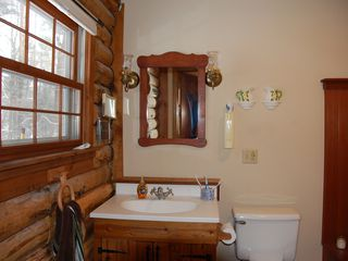 Great Barrington cabin photo - Master Bathroom Sink