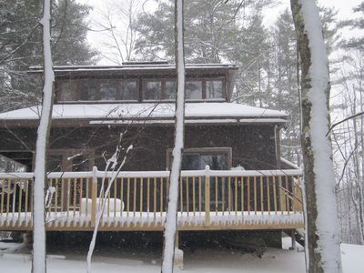Luxury Country House On 40 Acres of Private Land - Near Stratton Mountain Skiing