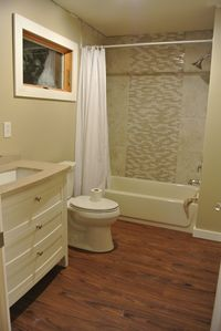 Completely remodeled bathroom 2012!