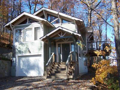 Asheville cabin rental - Mountain Laurel