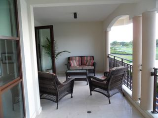 Rio Grande condo photo - Balcony with view at the hole # 13