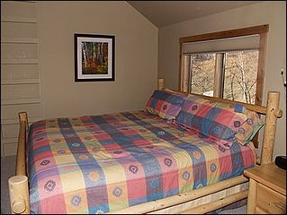 Vail townhome photo - 2nd Bedroom - King