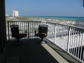 Pensacola Beach condo photo - View from a balcony.