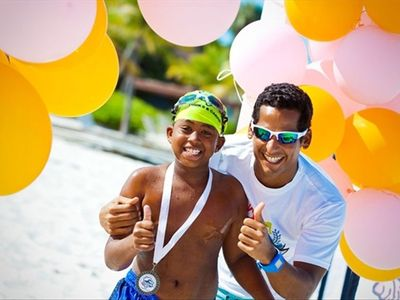 Tons of fun for families all along the 12 mile stretch of famed Grace Bay beach