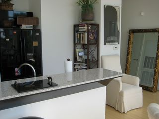view of kitchen area - Houston condo vacation rental photo