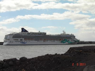 Cruise Ship in Harbour
