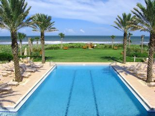 Ormond Beach condo photo - Our ocean side pool is beautiful and inviting