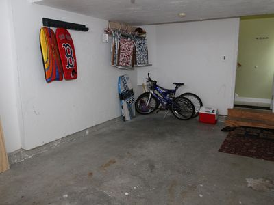 Seabrook condo rental - Bicycles, wave boards, beach chairs and umbrella for summer guests!