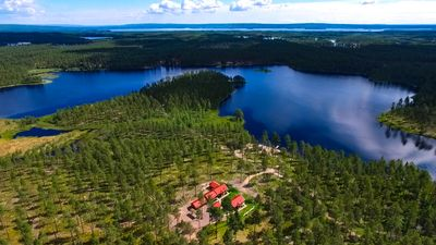 Lakefront Holiday Home Sasvilan at lake in Mora Dalarna