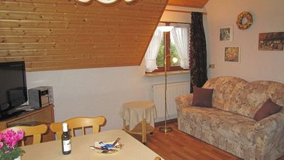 Gengenbach apartment rental - Combined living-room/kitchen Apt. 'Swallow's Nest'